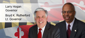 Governor Hogan and Lt. Governor Rutherford